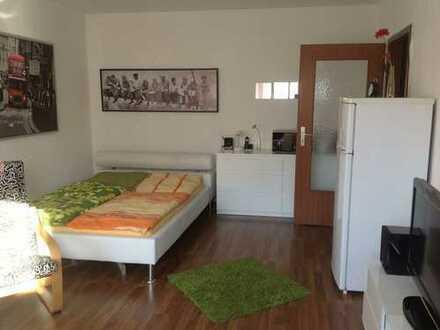 Schöne möbilierte ein Zimmer Wohnung in Kaiserslautern inkl. Garagenstellplatz, Uninähe