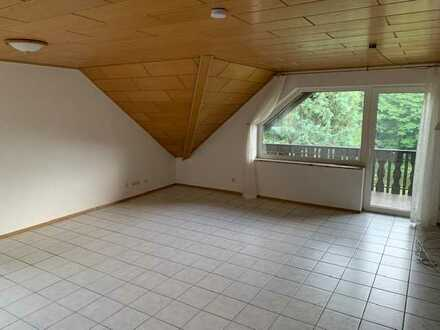 gepflegte 5-Zimmer-Dachgeschosswohnung mit großer Loggia und Balkon in Bad Steben