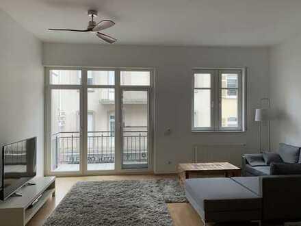 Stilvolle, geräumige 2-Zimmer-Wohnung (möbliert) mit Balkon in Bad Nauheim
