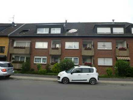 Seniorengerechte Wohnung mit Balkon und EBK in Rheinhausen-Bergheim. WBS nötig.