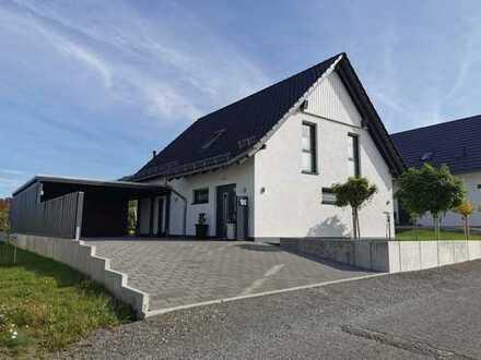 Exklusives und hochwertig ausgestattetes Einfamilienhaus mit unverbaubarem Blick