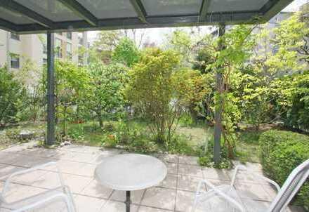 Eigene Terrasse und Garten - Sehr ruhig und sonnig - Mitten in der Stadt - Barrierefrei