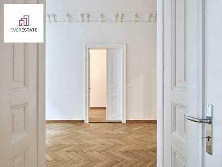 Provisionsfrei & frisch renoviert: Herrliche Altbauwohnung mit viel Stuck