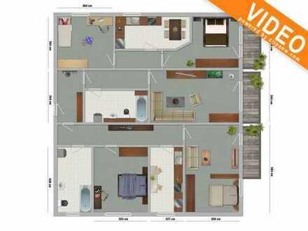 top renovierte 5 Raum Wohnung im ruhigen Haus