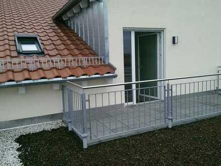 Exklusive 2-Zimmer-Dachgeschosswohnung mit Dachterrasse in Undenheim