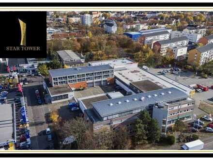 Gewerbe-Komplex mit starker Rendite in Hanau - 2 Bürohäuser und 1 Supermarkt