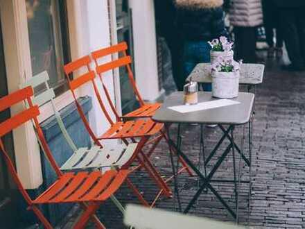 Modernes und schickes Café in Treptow