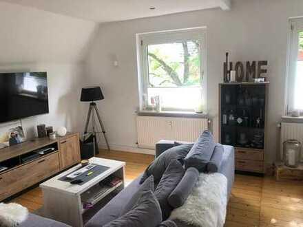 Wunderschöne und charmante 4-Zimmer-Wohnung über zwei Ebenen in der Innenstadt von Gütersloh