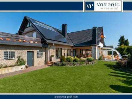 Imposantes Einfamilienhaus mit vielen Extras und Einliegerwohnung in Minden-Dützen