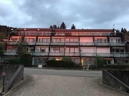 Ferienwohnung, Erstbezug nach Sanierung: freundliche 1-Zimmer-Terrassenwohnung mit EBK und Balkon