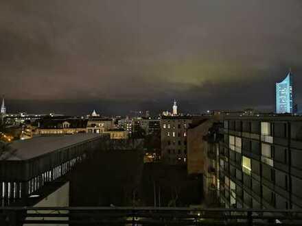 Attraktive 3-Zimmer-DG-Wohnung mit Balkon und Einbauküche in Leipzig
