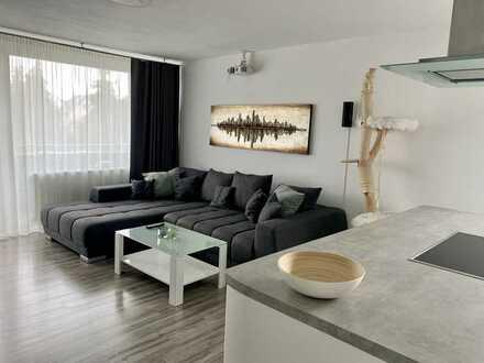 Sanierte 2-Zimmer-Wohnung mit Balkon und Einbauküche in Kandel