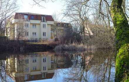 Sonntagsbes. 0172-3261193 / Sofortbezug / Wasserblick / kleine Stadtvilla in ruhiger Lage / Balkon