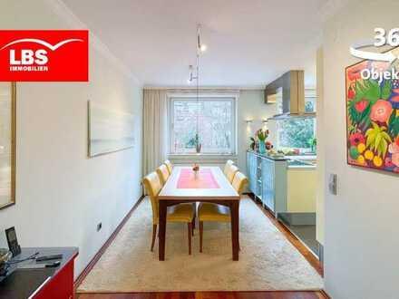 Wunderschöne Maisonette Wohnung mit Garten in Düsseldorf zu verkaufen!