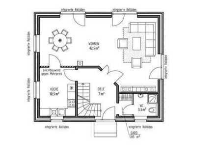 Einfamilienhaus zum Mieten
