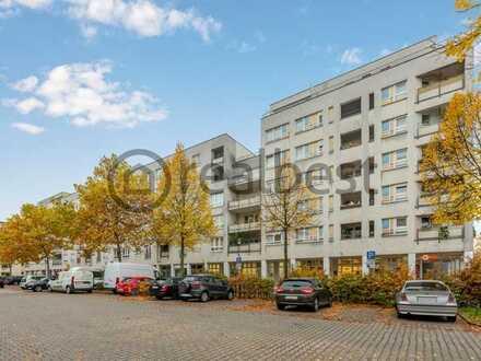 Kapitalanlage: Gepflegte, vermietete 2-Zimmer-Wohnung mit 2 Loggien & Außenstellplatz
