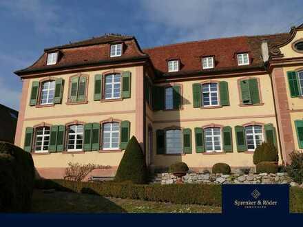 AUKTION Obergeschosswohnung im Westflügel des Schlosses Tennenbach