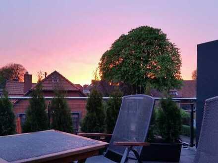 Sonnig, modern und exklusiv: 3Zi. Penthouse Wohnung mit wunderschöner Dachterrasse