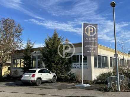 Funktionale Werkstatt-, Produktion- und Lagergebäude mit Büro im Stuttgarter Norden zu vermieten