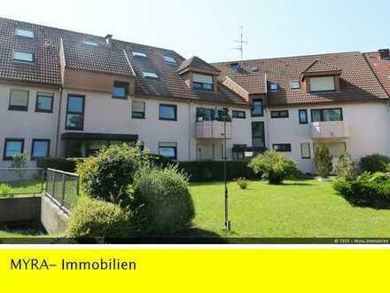 RESERVIERT *Leerstehende EG-Wohnung*in Grünwinkel *43 m² Wfl mit Balkon, EBK und TG-Stellplatz*
