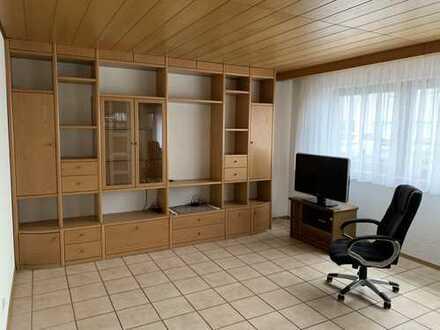 Neuwertige 1-Raum-Erdgeschosswohnung mit Einbauküche in Aschaffenburg
