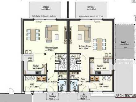 Modernes Energie-Spar Haus mit viel Platz