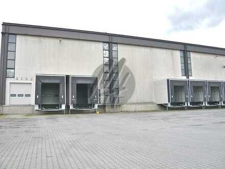 KEINE PROVISION ✓ NÄHE BAB ✓ Lager-/Logistikflächen (4.500 m²) zu vermieten