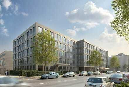 Neubau-Erstbezug: Excl. EG-Büroeinheiten in neuem Campus gegenüber dem BMW-FIZ, 273,10 qm