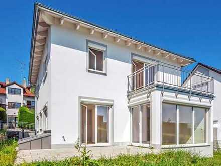 Gesundes Wohnen im neu gebauten Einfamilienhaus mit fantastischem Bergblick in Berg-Aufkirchen