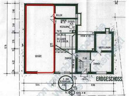 Scheune mit Grundfläche 65 m²