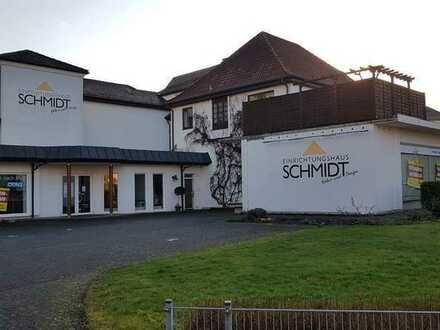 Gewerbeimmobilie mit Wohnungen in allerbester Lage der Kreissstadt Erbach