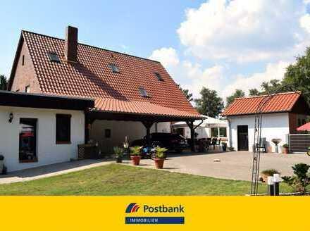 Wohnen am Oste-Hamme-Kanal! Pferdehaltung zulässig!
