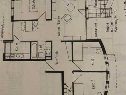 Gepflegte 4,5-Zimmer-Wohnung mit Balkon und EBK in Weinsberg