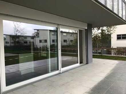 Erstbezug mit EBK: exklusive 2-Zimmer-Erdgeschosswohnung in Freising