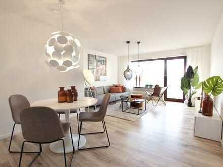 Renovierte 3- Zimmer Wohnung mit großen Balkon -PROVISIONSFREI-