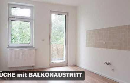 Helle City-Wohnung mit großer Küche und Balkon