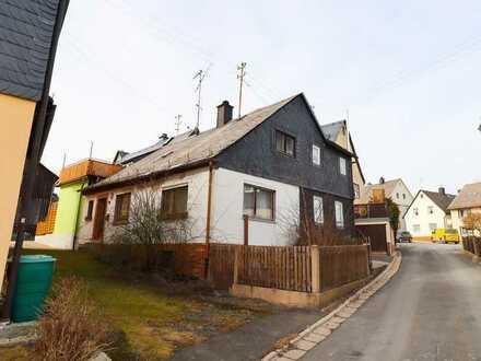 ... ein Minihaus zum Minipreis im schönen Frankenwald....