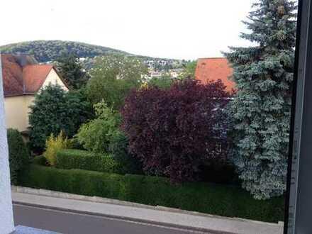 Gut geschnittene,vollständig renovierte 2-Zimmer-Dachgeschosswohnung mit Balkon in Hofheim