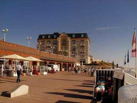Sonnige Einzimmerwohnung mit Stellplatz in zentraler Lage in Westerland