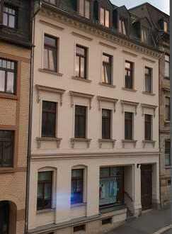 Ganze Etage,3 Räume,großer Balkon und schöne Aussicht im Zentrum von Reichenbach im Vogtland