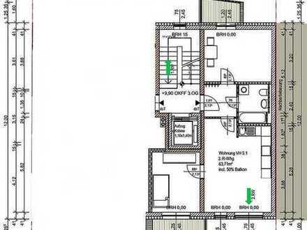 Bild_Top Neubau, 3 R. Whg, 2 Balkone und sep. Küche, Aufzug, Fußbodenheizung, ab 01.01.2019