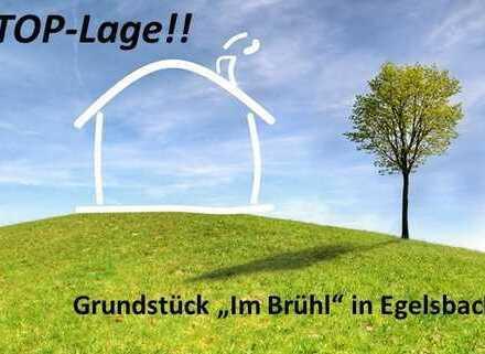 """Grundstück in TOP-Lage in Egelsbach """"Im Brühl"""" mit Baugenehmigung für 500 m² Netto-Wohnfläche!!"""