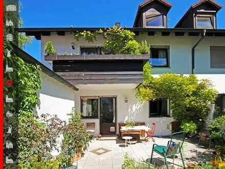 Absolut ruhige 3-Zimmer-Wohnung mit großem Garten und separatem Hobbyraum mit Duschbad