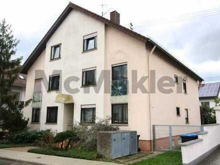 Kapitalanlage oder neues Zuhause: Modernisierte 2-Zi.-ETW mit Balkon in idealer Lage in Karlsruhe