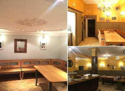 Bestehende Konzession + Mobiliar: exponierte Gastrofläche in Heidelberg