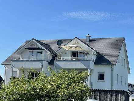 3 ZKB Galerie-Dachgeschosswohnung 70 qm + 12 qm Galerie mit Süd-Balkon & super Aussicht