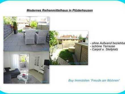 Modernes Reihenmittelhaus in Plüderhausen!