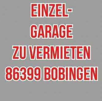 Einzelgarage abschließbar in 86399 Bobingen