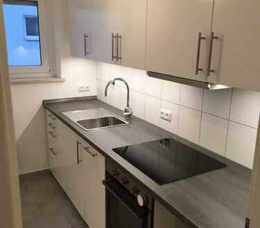 Erstbezug nach Sanierung: schöne 3-Zimmer-Wohnung mit EBK und Südbalkon in Augsburg Göggingen