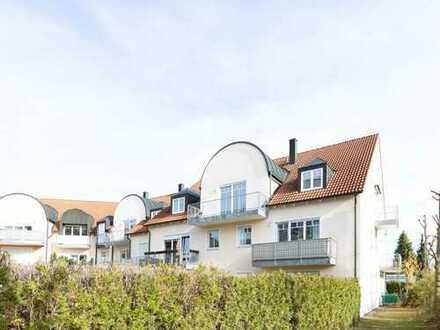 Helle 2-Zimmer-Dachgeschosswohnung